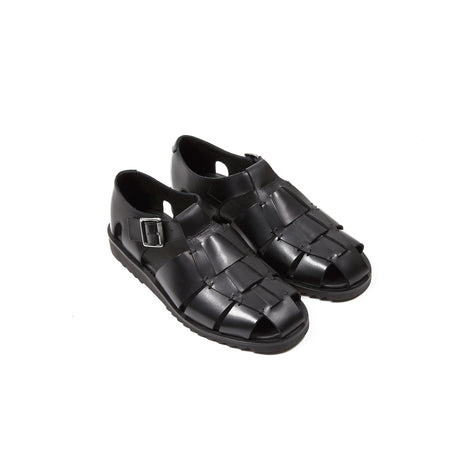 Paraboot Pacific Sandals in Black