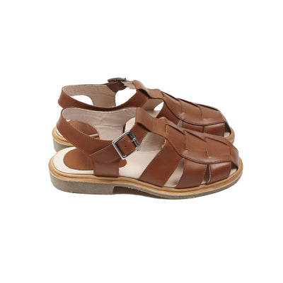 Paraboot Women's Iberis Chasse Sandals in Miel Gold
