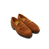 Paraboot Dax Galaxy Loafer in Fine Marron / Vel Miel
