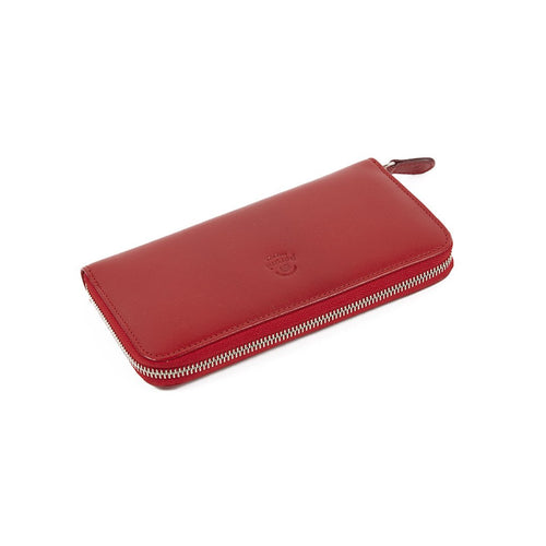 Peroni Red Leather Purse