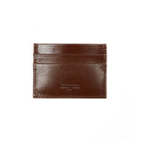 Peroni Art Slim Card Holder in Brown
