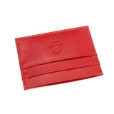 Peroni Art Slim Card Holder in Red