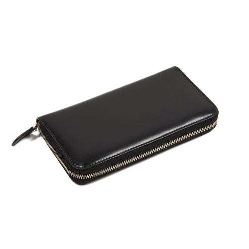 Peroni Leather Purse in Black