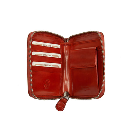 Peroni Art Medium Wallet in Red