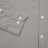 Portuguese Flannel Belavista Shirt in Light Grey
