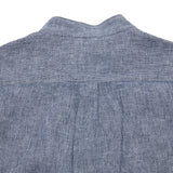 Portuguese Flannel Linen/Cotton Latitude Collarless Shirt