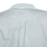 Portuguese Flannel Belavista Shirt in Stripe Green