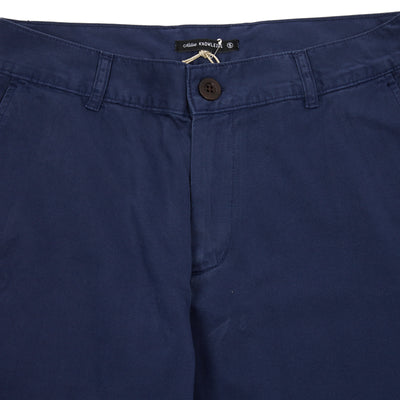 Portuguese Flannel Mini Golf Trousers in Navy