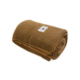 SNS Loyal Wool Blanket in Golden Camel/Black