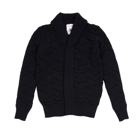 SNS Herning Disposition Cardigan in Navy