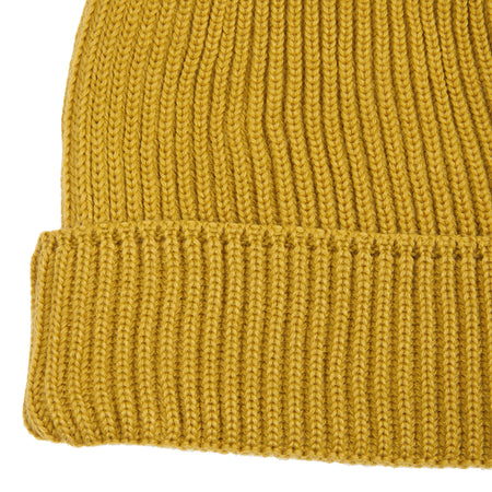 SNS Herning Mental Beanie Hat in Curry Yellow