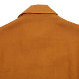 Salvatore Piccolo Women's Linen Shirt Jacket in Rust