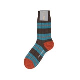 Scott Nichol Bayfield Wool Sock // 3 Colour Stripe