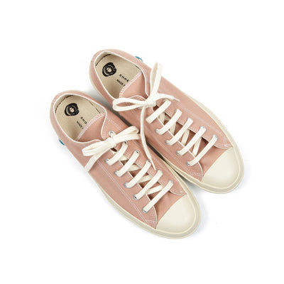 Shoes Like Pottery Canvas Trainers in Coral