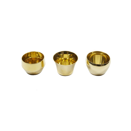 Skultuna Kin Brass Tealight Holders