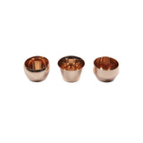 Skultuna Kin Copper Tealight Holders