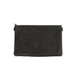 Sonnenleder Weill Leather Bank Pouch in Black