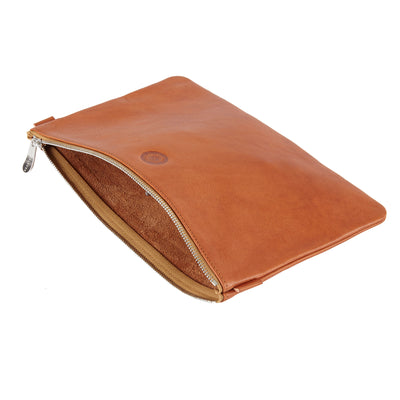 Sonnenleder Weill Leather Bank Pouch in Brown