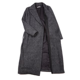 Stefano Mortari Women's Wool Coat in Grey
