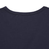 Sunspel Women's Crew-Neck T-Shirt in Navy