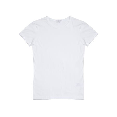 Sunspel Women's Crew-Neck T-Shirt in White