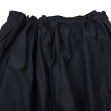 TS(S) Women's String Cotton Silk Balloon Skirt in Navy
