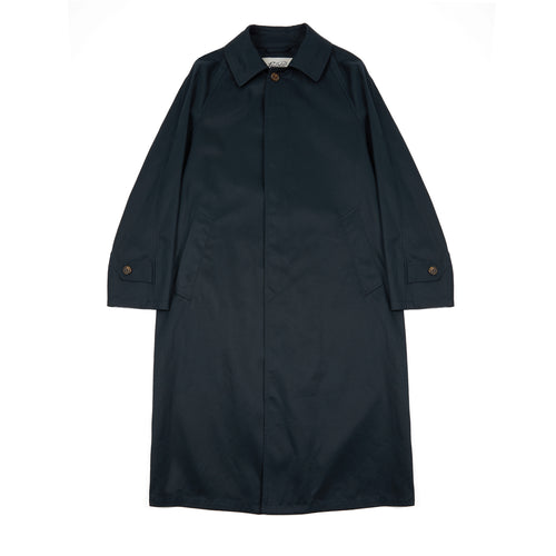 Valstar Cotton Twill Raincoat in Navy