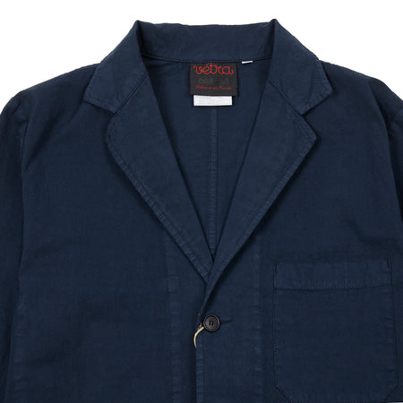 Vetra 1K55/24 Three Button Cotton Jacket in Navy