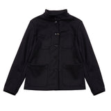 Vetra 2F05/22 Wool Melton Jacket in Marine