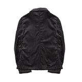 Vetra Women's 9L50/4F Wide Whale Corduroy Jacket in Black