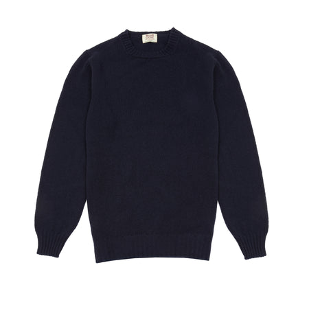 William Lockie Gullan Geelong Jumper in Dark Navy