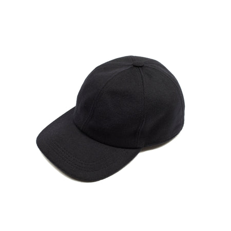 Lock & Co Rimini Loden Baseball Cap in Navy
