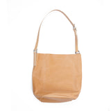 Ally Capellino Lloyd Small Calvert Leather Bucket Bag in Light Tan