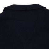 Apuntob Cashmere/Silk Cardigan in Blue