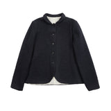 Apuntob Cotton/Wool Tweed Jacket in Blue