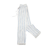 Barena Bativoga Stripe Trouser in Blue and Ivory