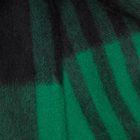 Begg & Co Jura Ingles Shamrock Scarf in Green