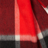 Begg & Co Jura City Lights Scarf in Red Green