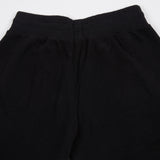 Merz b Schwanen WLYP01.99 GOOD BASICS women's sweat pants | deep black 60% ORG. CO / 40% CLY