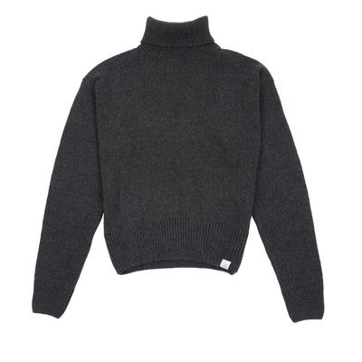 Merz b Schwanen Good Basics Women's Rollkragen Turtle-neck Charcoal