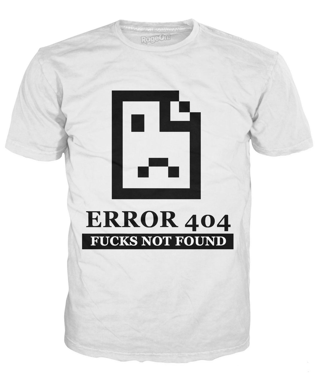 404 Fucks Not Found T-Shirt