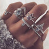 New Boho 8 Pcs / Set Retro Rings