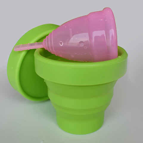 Microwavable Sterilizing Cup For Period Cups
