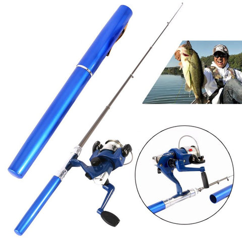 Pocket Fishing Rod WATCH VIDEO REVIEW BELOW TO SEE IT IN ACTION!