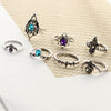 Boho 7pcs/Set Vintage Ring Set