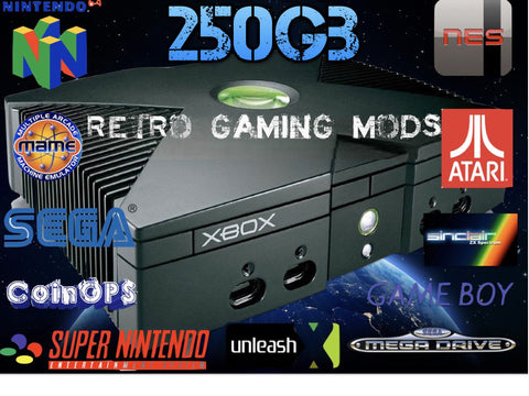 SOLD OUT Modded Original XBOX with 15000 Games. Full list of consoles below SOLD OUT