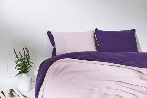 "Flax Bedding Set ""Lilac/Purple"" SS'18"
