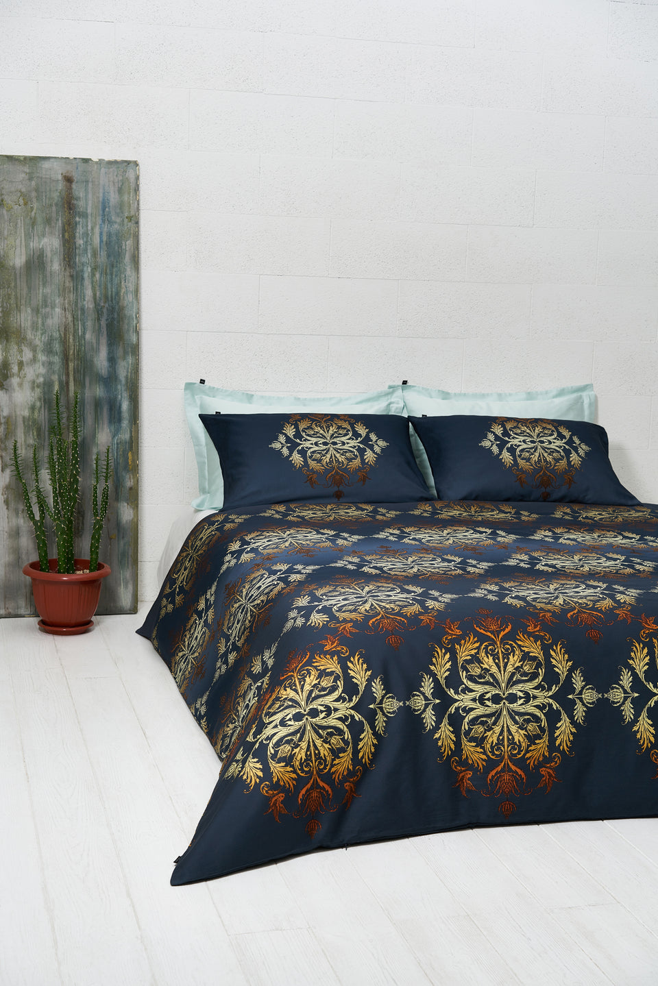 "Bedding Set ""Imperial Damask Light"""