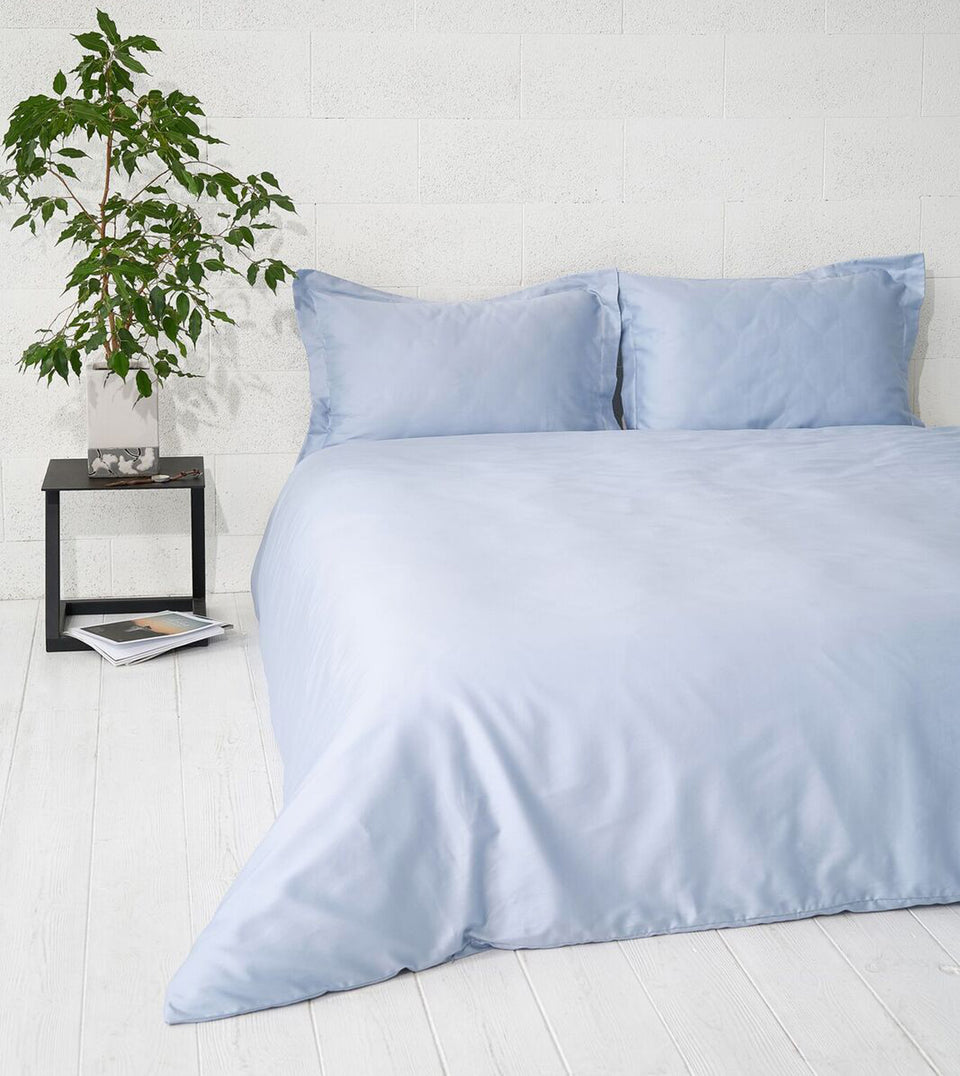 "Bedding Set ""Sky Blue"""
