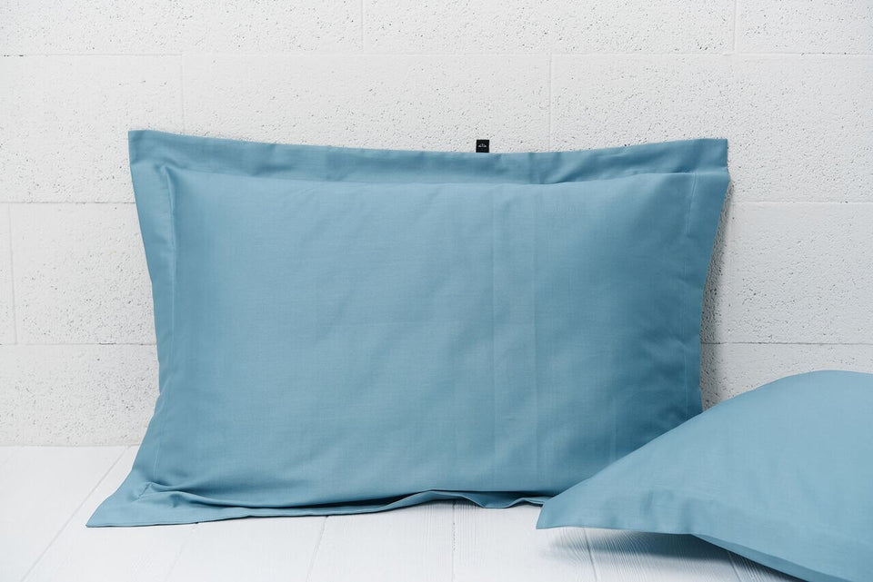 "Pillow cover ""Cold Green"""